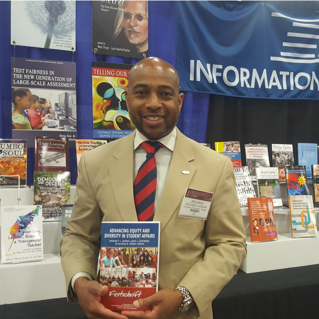 Dr Jackson Advancing Equity in Student Affairs Book