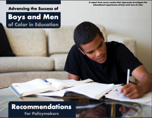 Advancing Success of Boys and Men of Color in Education